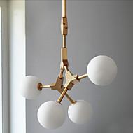 זול -LED נורה כלולה נברשות Ambient Light עבור 440lm 110-120V 220-240V נורה כלולה