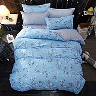 cheap Floral Duvet Covers-Duvet Cover Sets Animals 4 Piece Poly/Cotton Reactive Print Poly/Cotton (If Twin size, only 1 Sham or Pillowcase)