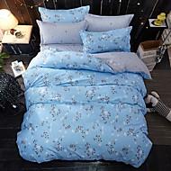 布団カバーセット 動物 4個 ポリ/コットン 反応染料 ポリ/コットン ツインサイズの場合、枕カバーが1枚しか含まれていません.