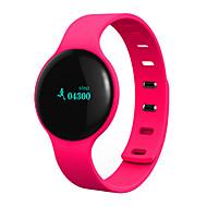 tanie Inteligentne zegarki-Inteligentne Bransoletka Ekran dotykowy Wodoszczelny Spalone kalorie Krokomierze Rejestr ćwiczeń Śledzenie odległości Długi czas czuwania