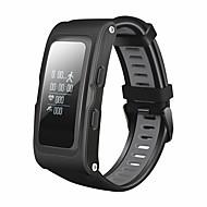 tanie Inteligentne zegarki-Inteligentne Bransoletka GPS Ekran dotykowy Pulsometr Wodoszczelny Spalone kalorie Krokomierze Obsługa wiadomości Kontrola APP