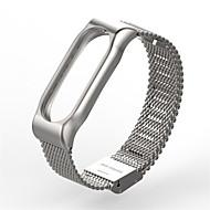 billiga Smart klocka Tillbehör-Klockarmband för MiBand Mi Band 2 Xiaomi Milanesisk loop Rostfritt stål Handledsrem