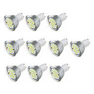 billige Spotlys med LED-3.5W 360-400 lm GU10 LED-spotpærer MR16 16 leds SMD 5630 Varm hvit Hvit AC 220-240V