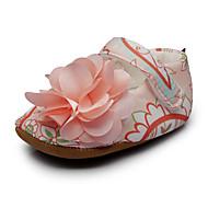 Bebê Rasos Conforto Primeiros Passos Sapatos de Berço Tecido Primavera Outono Casamento Casual Social Festas & NoiteConforto Primeiros