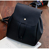 Women Bags All Seasons Nylon Backpack for Casual Black
