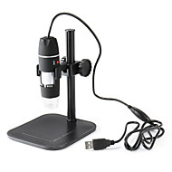 USB Digital Microscope 1-500X Continuous Zoom Portable Electron Microscope Video Camera Measure USB magnifier