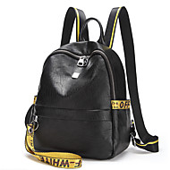 女性 バッグ オックスフォード バックパック のために カジュアル オールシーズン ブラック イエロー