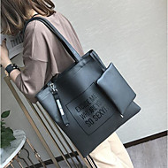 Women Bags All Seasons PU Tote for Casual Outdoor Green Black Gray