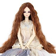 Naisten Synteettiset peruukit perverssi Medium Auburn Doll Wig puku Peruukit