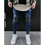 Herre Gade Tynd Skinny Bukser Ensfarvet / Weekend