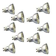 halpa -10pcs 3W 350lm GU10 LED-kohdevalaisimet 29 LED-helmet SMD 5050 Koristeltu Lämmin valkoinen Kylmä valkoinen 220V