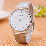 Pánské Módní hodinky čínština Křemenný Nerez Kapela Na běžné nošení Minimalistické Stříbro