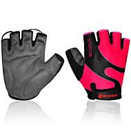 BOODUN/SIDEBIKE® Sporthandschuhe Fahrradhandschuhe tragbar Atmungsaktiv Wasserdicht Schützend Fingerlos Baumwolle Radsport / Fahhrad