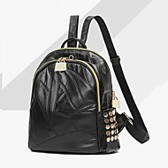 Women Bags All Seasons PU Backpack for Event/Party Casual Formal Outdoor Office & Career Black