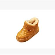 お買い得  ベビー用靴-靴 PUレザー 冬 コンフォートシューズ ブーツ のために 赤ちゃん ブラック / イエロー / レッド