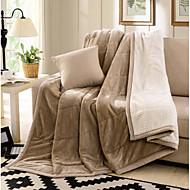 Superweich Massiv Wolle/Baumwolle Decken