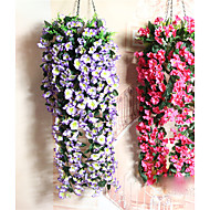 Simulation flower wall decoration wedding decoration simulation decoration hanging basket false flower wall hanging flowers