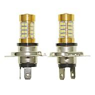Sencart 2pcs h4 p43t blinkende pære ledet bilhale omvendt lyspære lamper (hvid / rød / blå / varm hvid) (dc / ac9-16v)