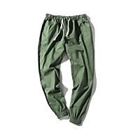 Muškarci Boho Veći konfekcijski brojevi Vitko Harem hlače Chinos Hlače Jednobojni