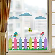 فيلم نافذة وملصقات زخرفة حيوانات الفني PVC / Vinyl ملصق النافذة / غرفة المعيشة