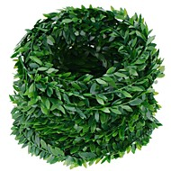 16.4 Yards Artificial Ivy Garland Foliage Green Leaves Fake Vine for Wedding Party Ceremony DIY Headbands