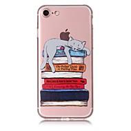 billiga Mobil cases & Skärmskydd-fodral Till Apple iPhone X iPhone 8 Mönster Skal Katt Mjukt TPU för iPhone X iPhone 8 Plus iPhone 8 iPhone 7 Plus iPhone 7 iPhone 6s Plus
