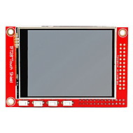 "2,8 ""tft 320 x 240p touchscreen display module voor Raspberry Pi b + / b - rood"
