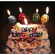 Party Tilbehør Andet Jubilæum Fødselsdag Fødselsdagsfest 15- og 16-års fødselsdage Baby Fest Fødselsdag Nyfødt Bryllup Stearinlys Gaver