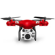 hesapli -RC Drone SHR / C SH5HD RTF 4CH 6 Eksen 2.4G HD Kameralı 5.0MP 1080P RC 4 Pervaneli Helikopter FPV / Dönüş Için Tek Anahtar / Otomatik