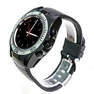 tanie Inteligentne zegarki-Inteligentny zegarek SW007 na Android Spalone kalorie / Odbieranie bez użycia rąk / Obsługa multimediów / Kamera / aparat / Śledzenie odległości Krokomierz / Pilot / Rejestrator aktywności fizycznej