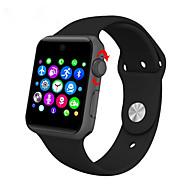 tanie Inteligentne zegarki-Inteligentny zegarek Ekran dotykowy Spalone kalorie Krokomierze Śledzenie odległości Anti-lost Obsługa wiadomości Obsługa aparatu Długi