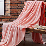 cheap Blankets & Throws-Super Soft Solid Polyester Blankets