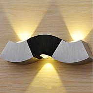 baratos Arandelas de Parede-LED / Moderno / Contemporâneo / Inovador Luminárias de parede Metal Luz de parede 85-265V 1 W / Led Integrado