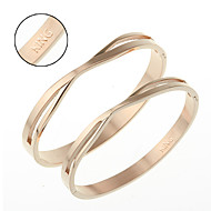Titanium bracelet Korea fashion jewelry gift on Valentine's day HTBR-0409