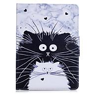 Θήκη Za Apple iPad Mini 4 iPad Mini 3/2/1 iPad 4/3/2 iPad Air 2 iPad Air Utor za kartice Novčanik sa stalkom Zaokret Korice Mačka