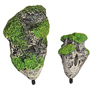 קישוט אקווריום אבנים שרף