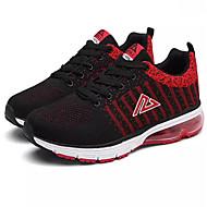 halpa -Miehet kengät Synteettinen Kevät Kesä Syksy Talvi Comfort Urheilukengät Tarranauhalla Käyttötarkoitus Urheilullinen Musta Sininen