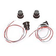 billiga Sensorer och larm-Rc - 36 trådbundet fönster / dörrströmbrytare sensor magnetiskt kontaktlarm hemskydd med tre trådar 1st