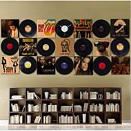 nástěnná výzdoba papírový materiál disk téma současná stěna umění plakát