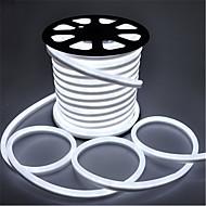 25W סרטי תאורת LED גמישים 3000 AC220 3m 360 נוריות לבן חמים לבן אדום צהוב כחול ירוק ורוד