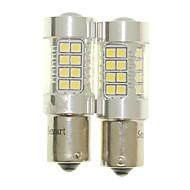 Sencart 2pcs 1156 ba15s p21w bulbo conduziu as luzes de lâmpada reversa da lâmpada do carro traseiro (branco / vermelho / azul / branco