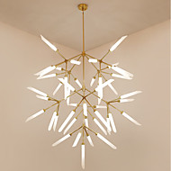 cheap Chandeliers-Artistic Chic & Modern Mini Style Chandelier Ambient Light For Living Room Study Room/Office 200-240V 110-120V Bulb Not Included