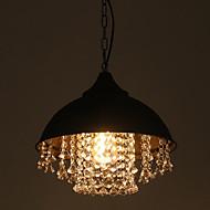 رخيصةأون -أضواء معلقة ضوء سفل طلاء ملون معدن زجاج كريستال 110-120V / 220-240V أبيض دافئ / E26 / E27