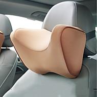 Descanso de Cabeça para Carros Encostos de cabeça Preto Azul Escuro Amarelo Cinzento Claro Vermelho Pele Universal Todos os Anos