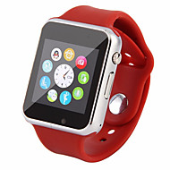 tanie Inteligentne zegarki-Inteligentny zegarek na Android GPS / Kamera / aparat / Obsługa wiadomości Rejestrator aktywności fizycznej / 0,3 MP / 64 MB / GSM(850/900/1800/1900MHz) / Żyroskop / MTK6261