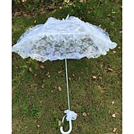 """umbrelă cârlig dantelă mâner 20.1 """"(cca.51cm) accesorii de nunta"""