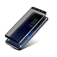 Screen Protector Samsung Galaxy za S8 Kaljeno staklo 1 kom. Prednja zaštitna folija 3D zaobljeni rubovi Zamračeni Sloj protiv otisaka