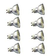 8 parça 3W GU10 LED Spot Işıkları 29 led SMD 5050 Dekorotif Sıcak Beyaz Serin Beyaz 350lm 3000-7000K AC220V