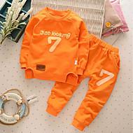 Toddler Chlapecké Ostatní Dlouhý rukáv Standardní Standardní Bavlna Sady oblečení Trávová zelená