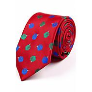 ieftine -Bărbați Jacquard Toate Sezoanele Model Poliester,Cravată